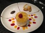 caramel desert which was very rich